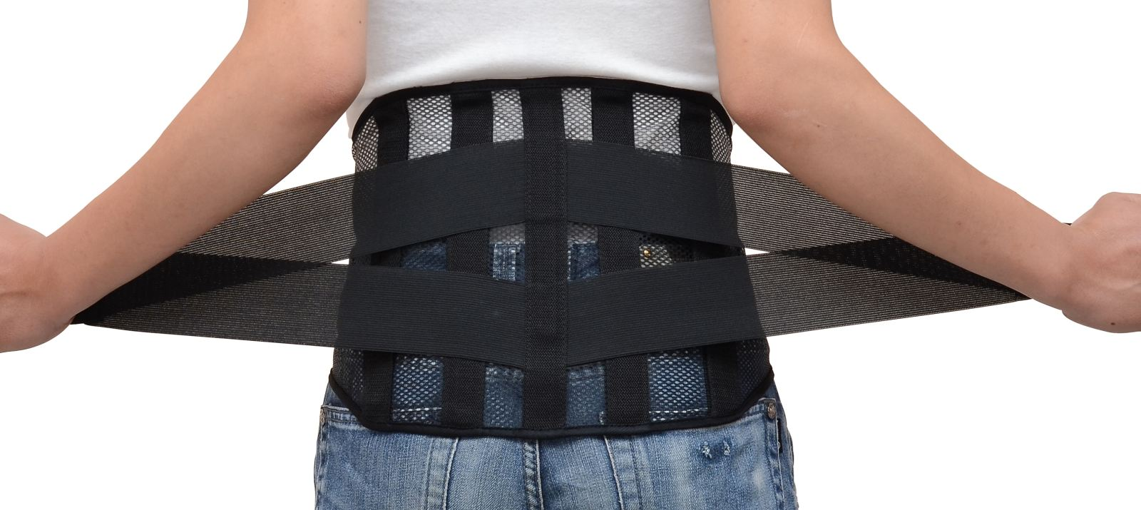 đeo đai nẹp lưng thoát vị đĩa đệm