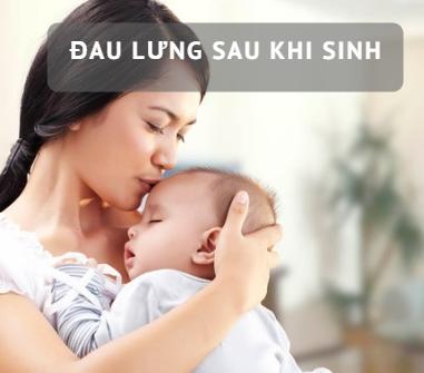 Đau lưng ở phụ nữ sau sinh và những điều cần biết-1