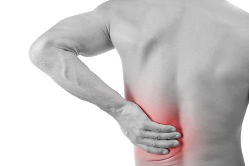 triệu chứng của giãn dây chằng ở lưng
