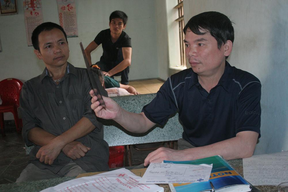 Lương y Lê Văn Thanh ở Thanh Hóa chữa thoát vị đĩa đệm
