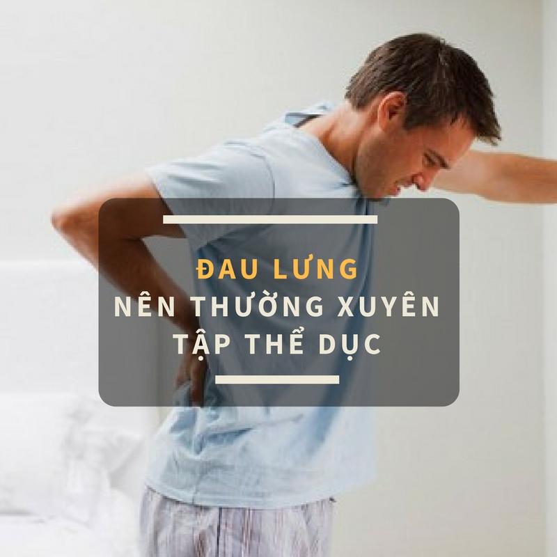 Người bị đau lưng nên thường xuyên tập thể dục-1