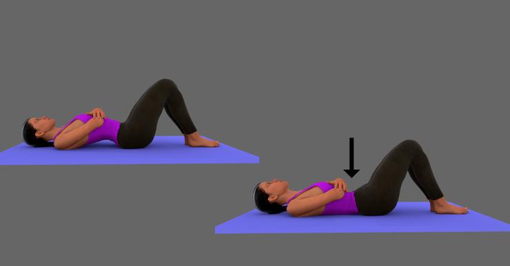 Bài tập vận động thắt lưng