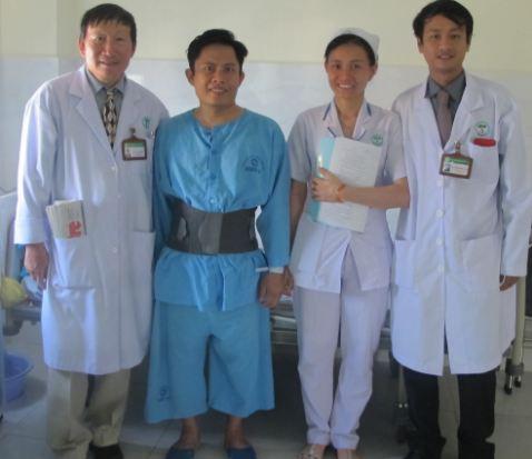 Điều trị viêm thân sống đĩa đệm