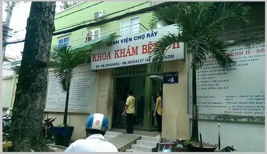 Khoa Khám bệnh Bệnh viện Chợ Rẫy