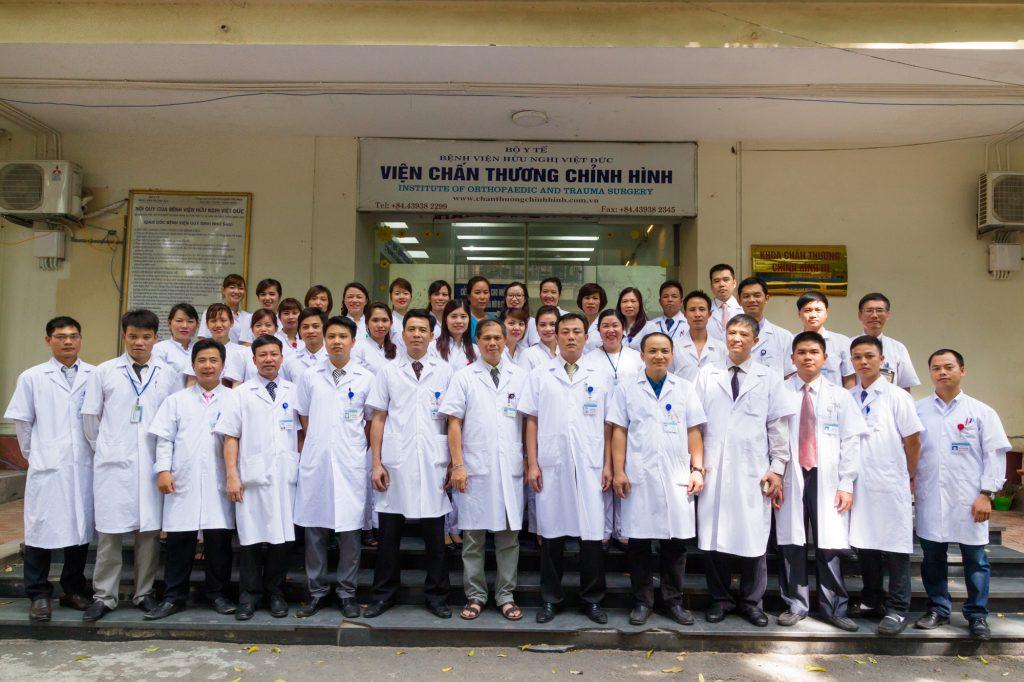 Viện Chấn thương chỉnh hình - khoa xương khớp bệnh viện việt đức