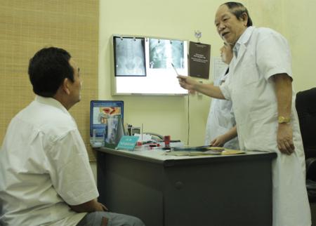 khoa Nam học bệnh viện Việt Đức