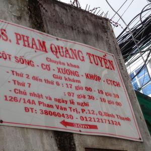 Phòng khám Bác sĩPhạm Quang Tuyến