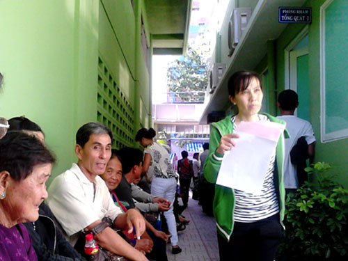 Cách lấy số khám bệnh Bệnh viện Chợ Rẫy