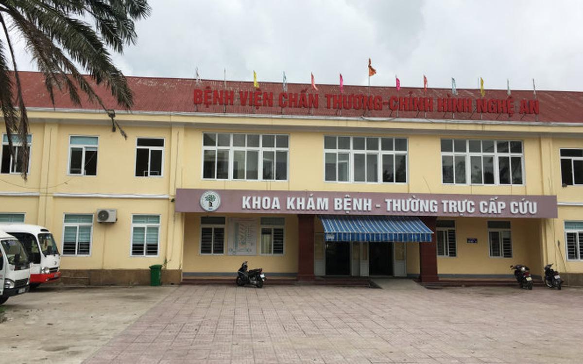 Địa chỉ bệnh viện chấn thương chỉnh hình tỉnh Nghệ An
