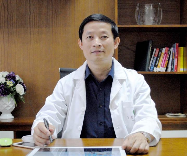 PGS.TS Kiều Đình Hùng Bệnh viện Đại học Y Hà Nội