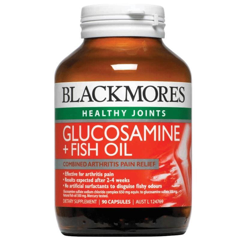 Blackmores Glucosamine And Fish Oil