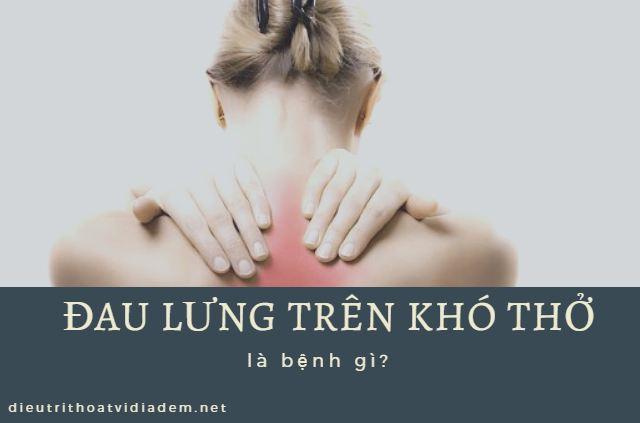 đau cột sống lưng trên