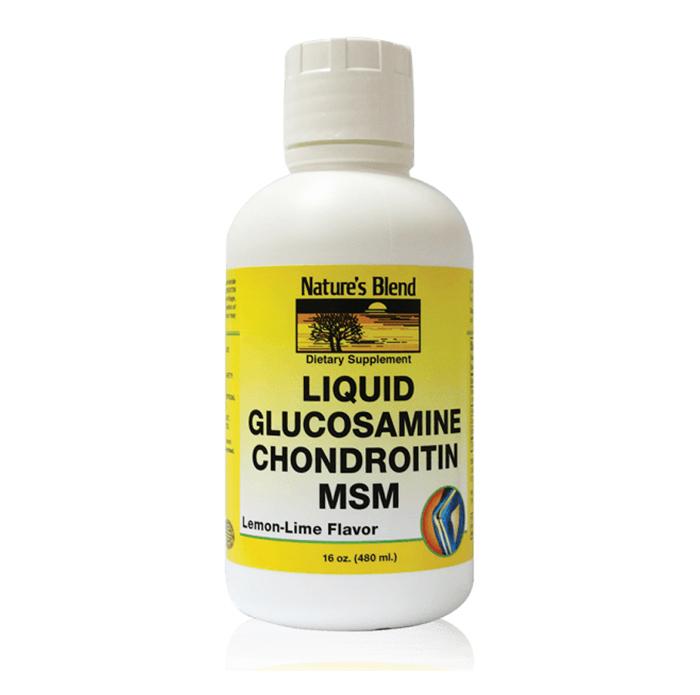 Liquid Glucosamine Chondroitin MSM-393