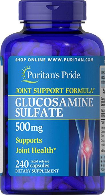 Puritan's Pride Glucosamine Sulfate 500 mg