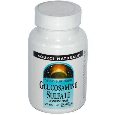 Source Naturals Glucosamine Sulfate 500 Mg