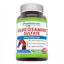 Pure Naturals Glucosamine Sulfate 750 Mg