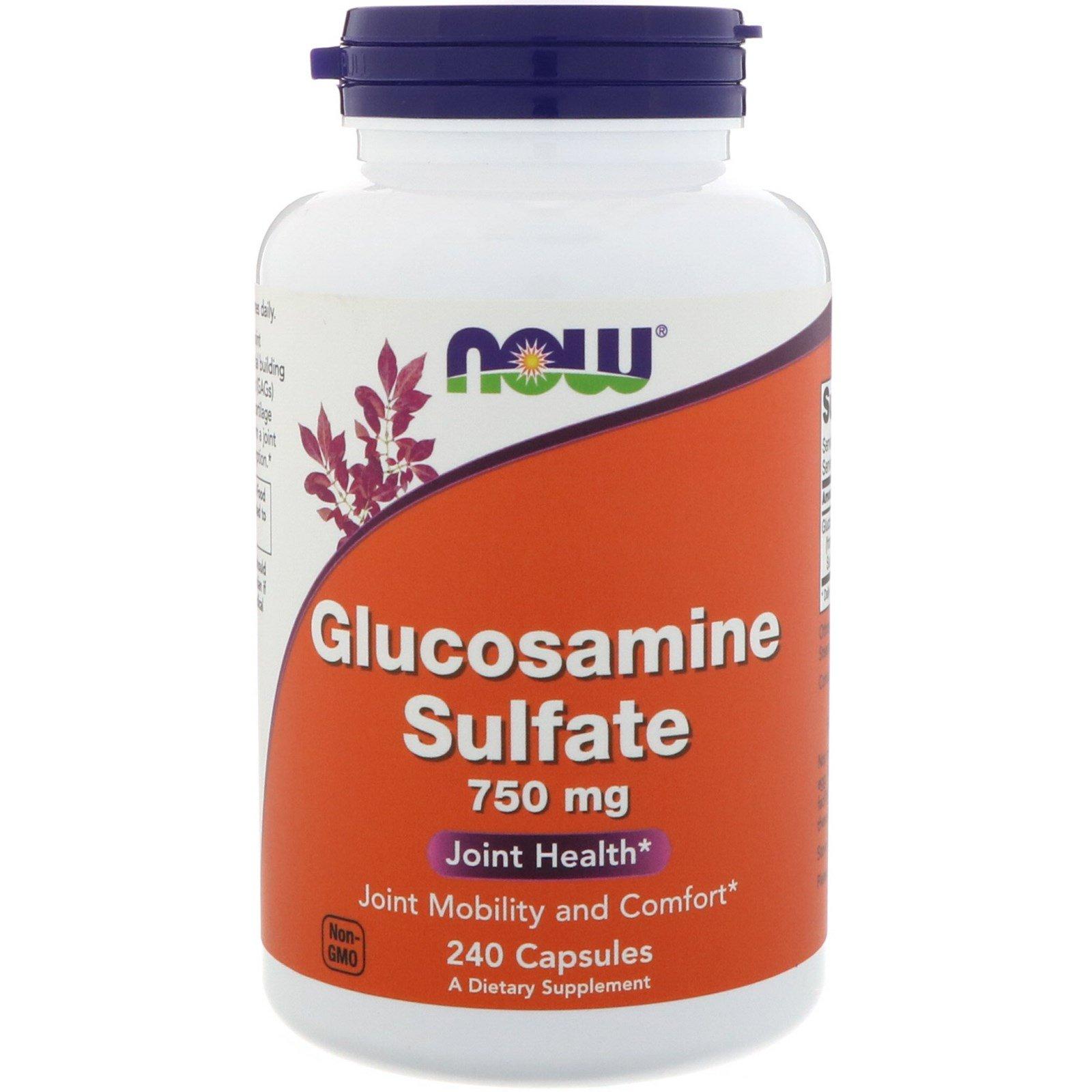 NOW Glucosamine Sulfate 750mg