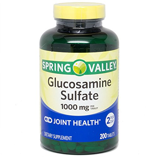 Spring Valley Glucosamine Sulfate 1000 mg