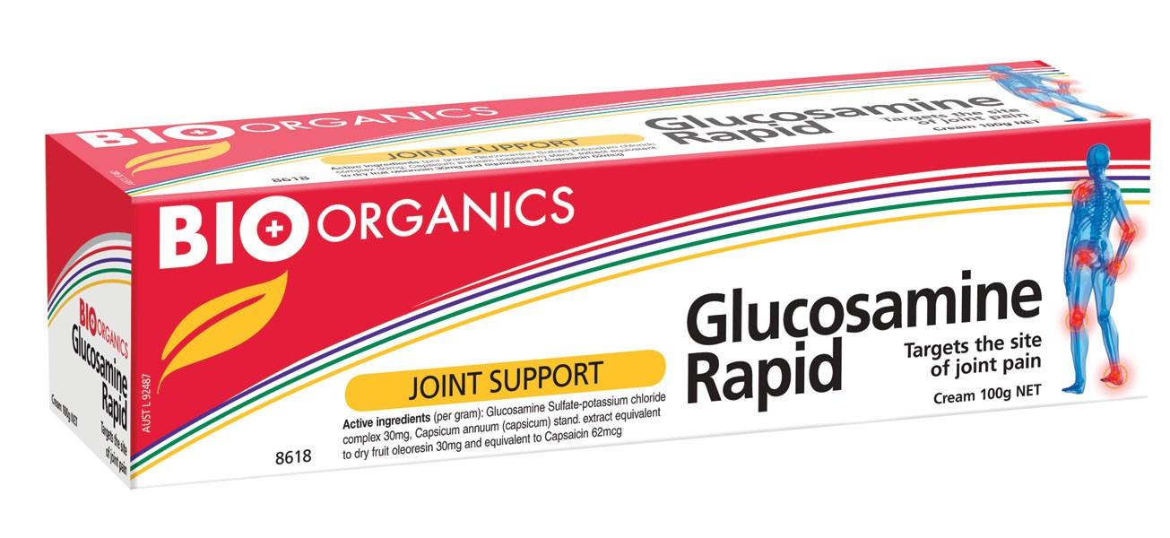 kem bôi Glucosamine Rapid Cream 100mg