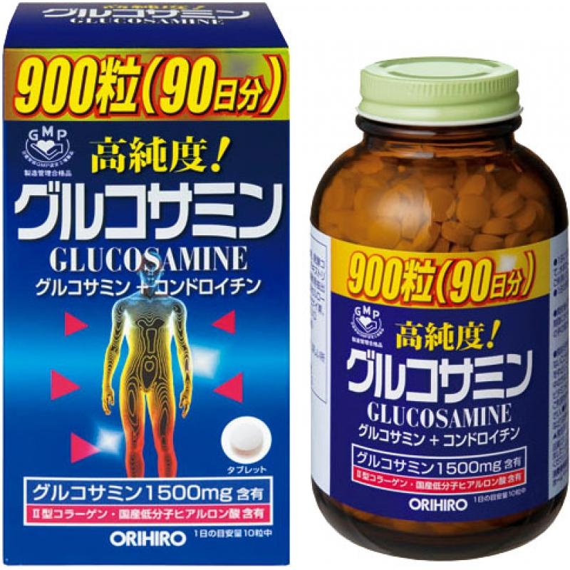 Glucosamine 1500MG Orihiro - Thuốc bổ xương khớp loại nào tốt