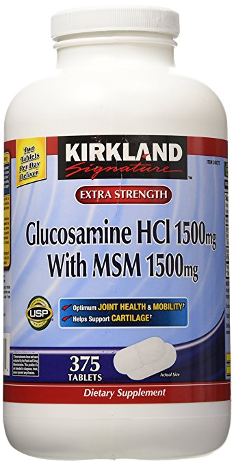 Glucosamine HCL 1500 MG With MSM 1500 MG