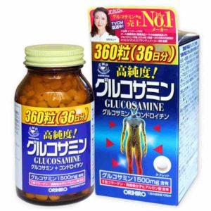 Viên uống Glucosamine Orihiro - orihiro glucosamine & hyaluronic acid- glucosamine 1500mg orihiro japan hộp 900 viên- glucosamine orihiro 1500mg của nhật- glucosamine orihiro 900 viênNhật Bản