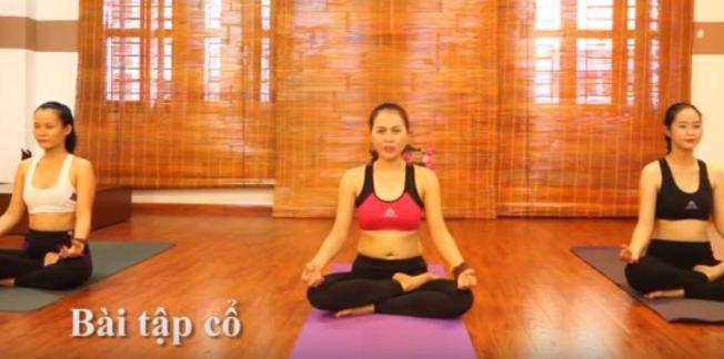 bài tập yoga chữa đau cổ vai gáy-1