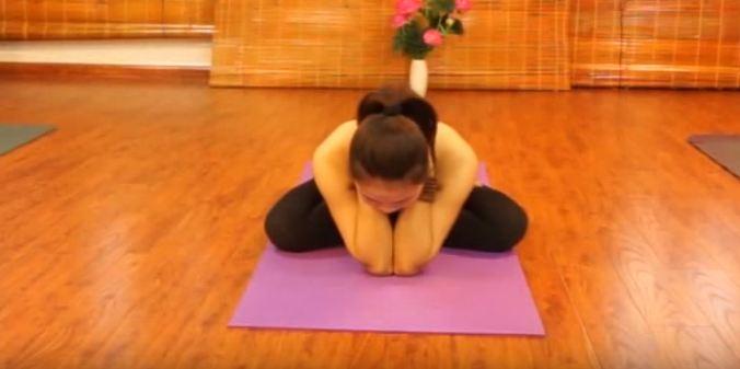 bài tập yoga chữa đau cổ vai gáy-6