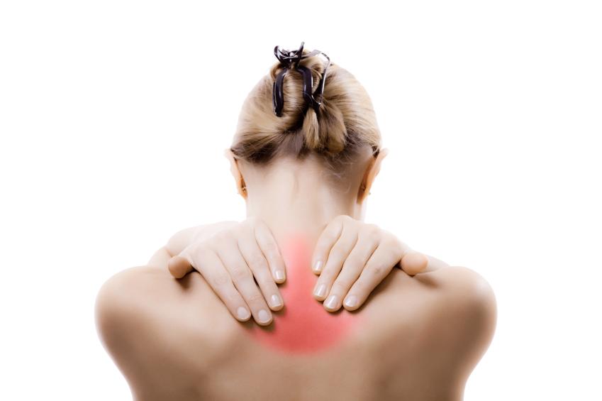 đau cơ gây đau giữa lưng trên
